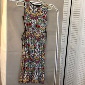 Topshop dress with tie sides